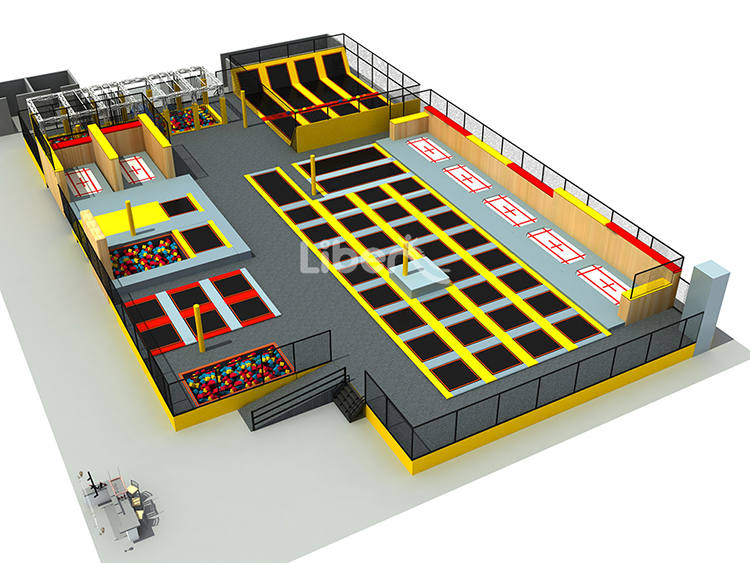 Liben Customized Trampoline Park Design
