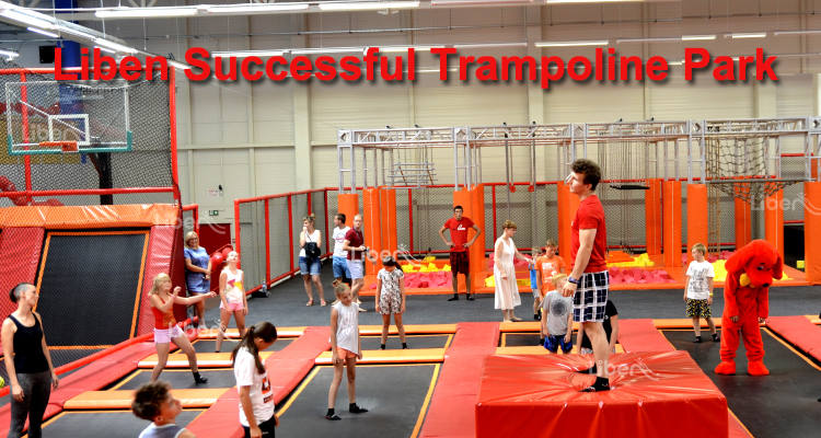 Liben Successful Trampoline Park Projects