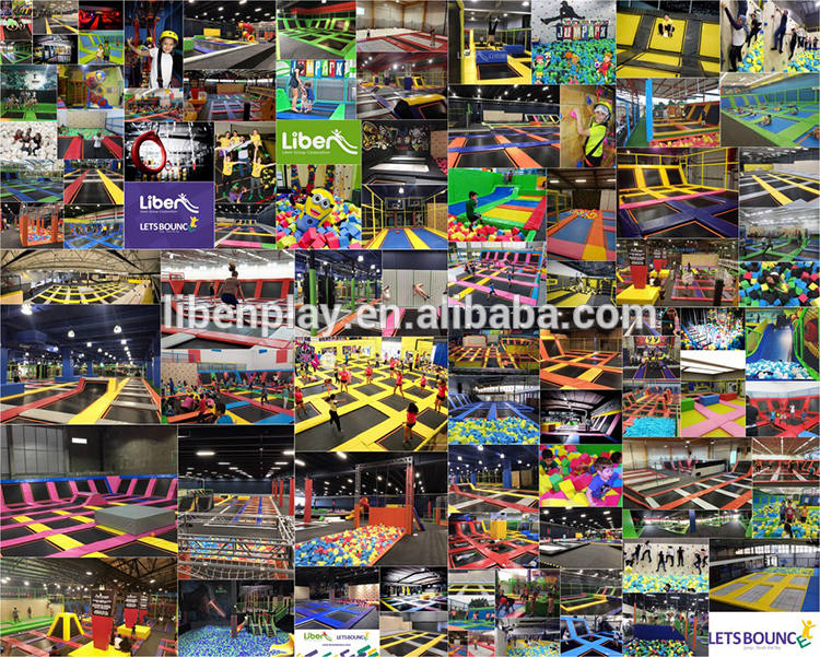 Liben Trampoline Park Projects all over the world