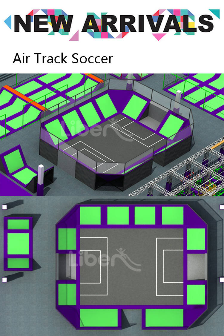Liben Trampoline Park Air Track Football-1