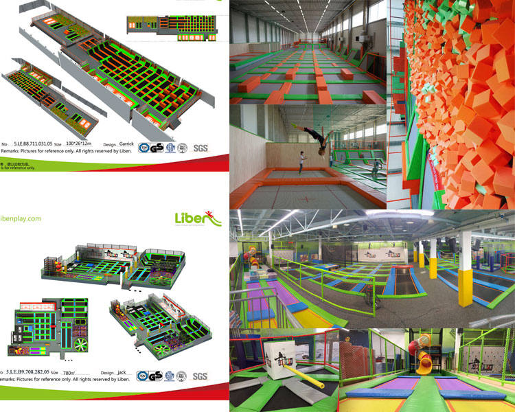 Successful Project of indoor trampoline park