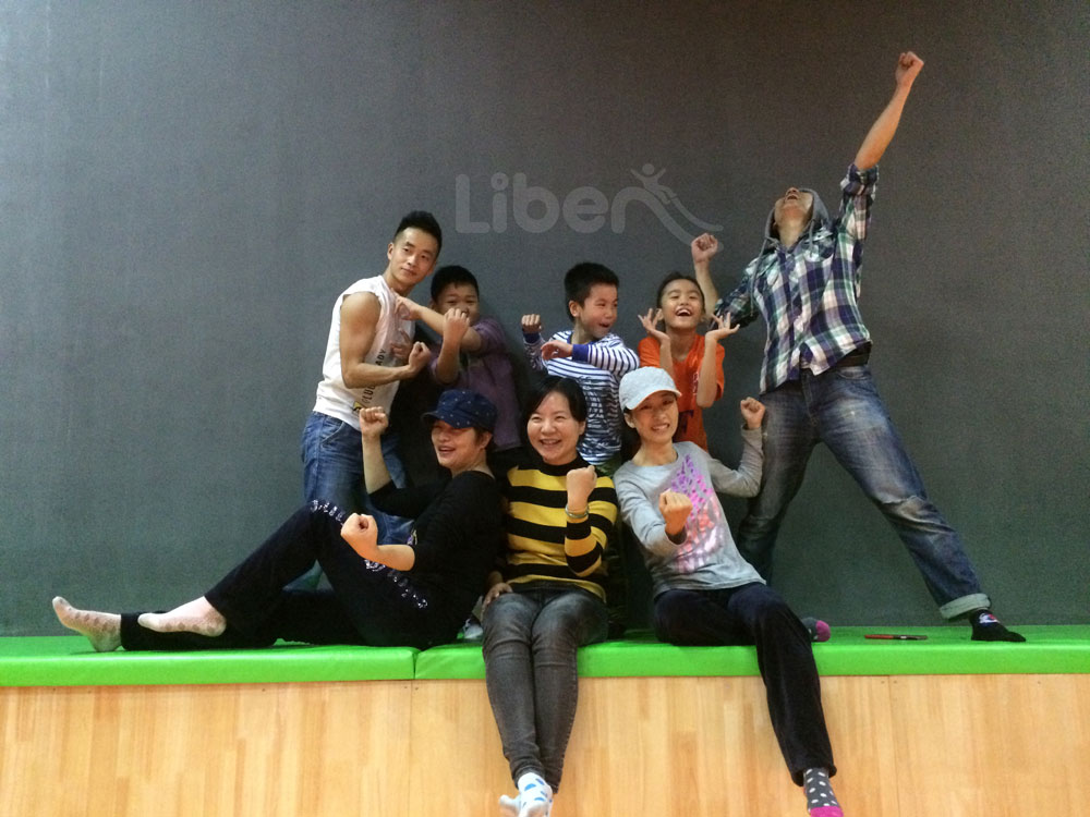 Liben Trampoline Project in Shenzhen, China
