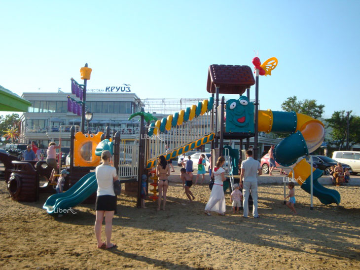 Liben Outdoor Playground Project in Russia