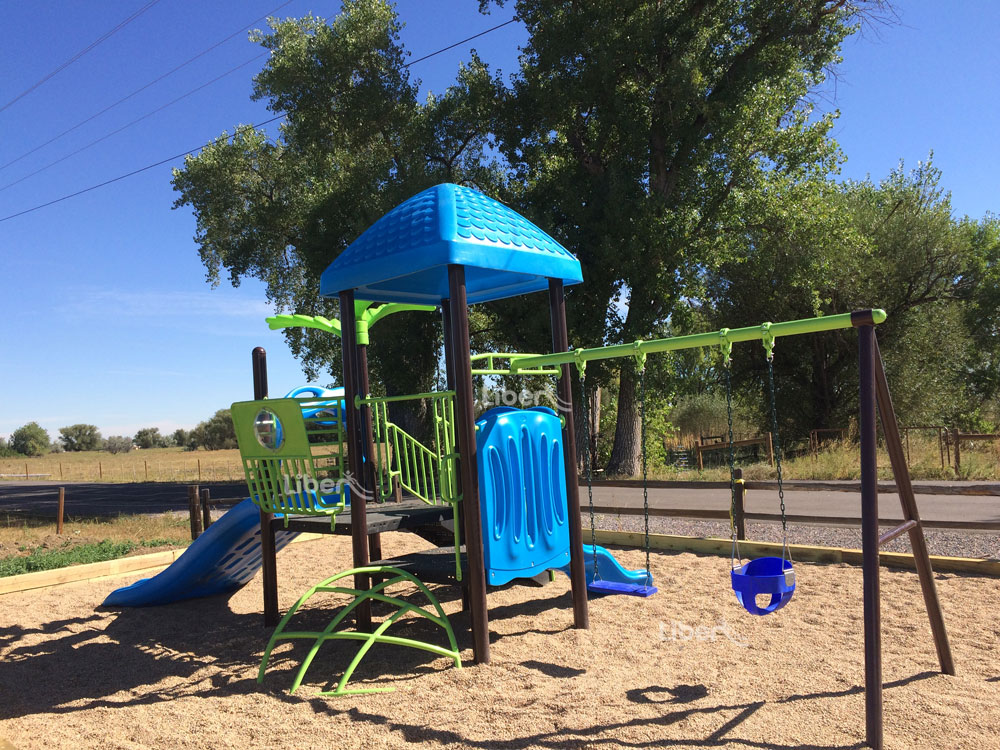 Liben Outdoor Playground Project in USA