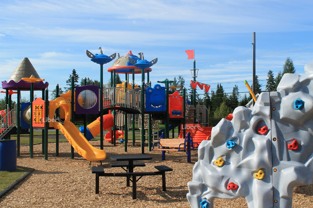 Liben Outdoor Playground Project in Canada