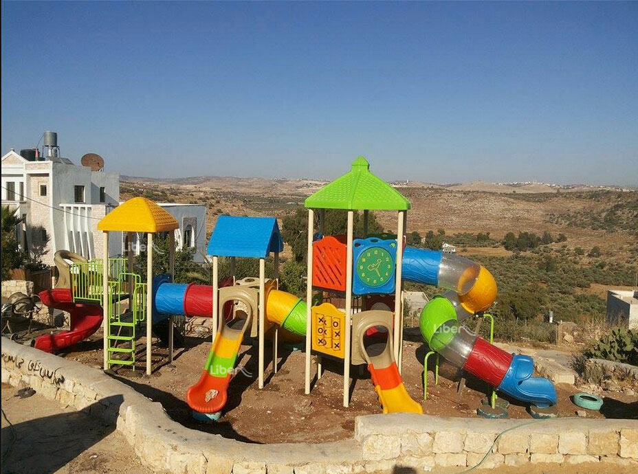 Liben Outdoor Playground Project in Palestine