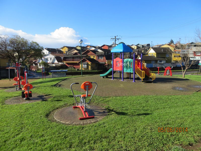 Liben Outdoor Playground Project in Chile