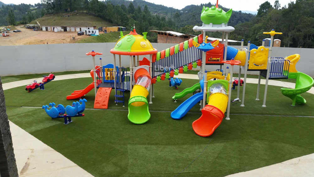 Liben Outdoor Playground Project in Colombia