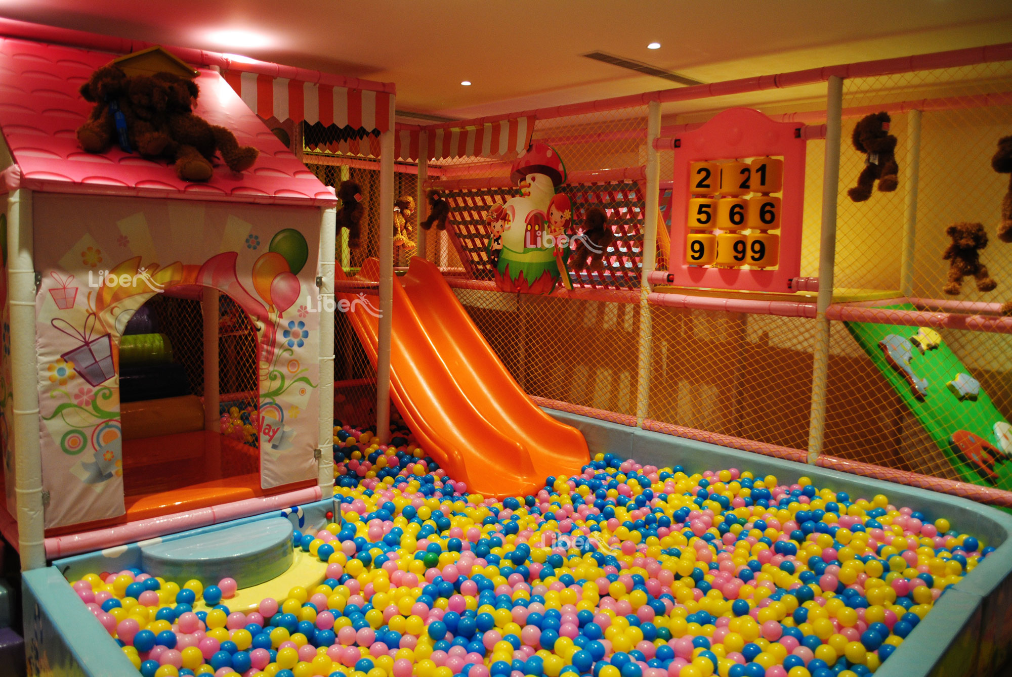 Liben Indoor Playground Project in Ningbo,China