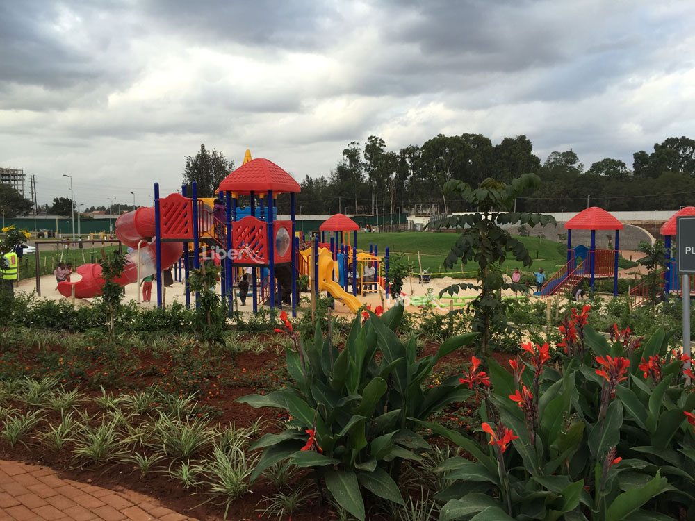 Liben Outdoor Playground Project in Kenya