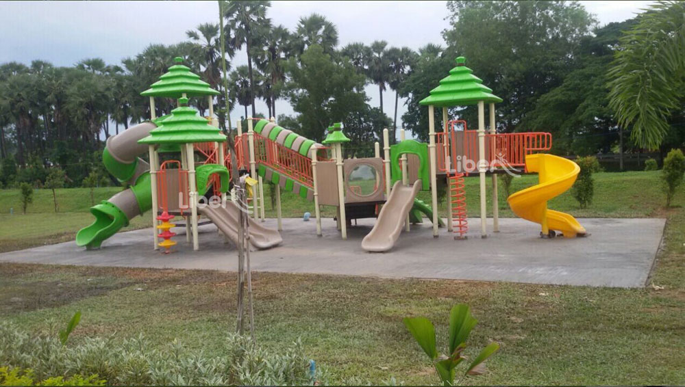 Liben Outdoor Playground Project in Myanmar