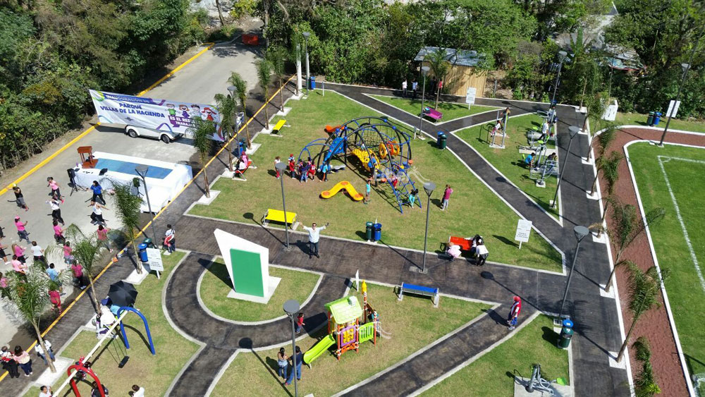 Liben Outdoor Playground Project in Mexico