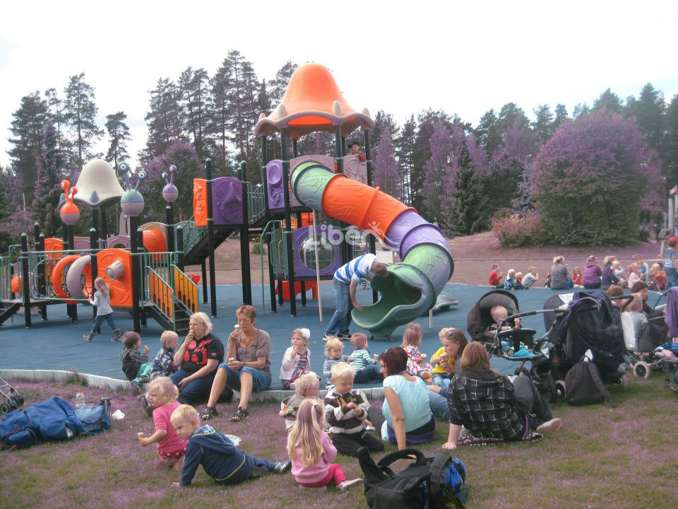 Liben Outdoor Playground Project in Norway