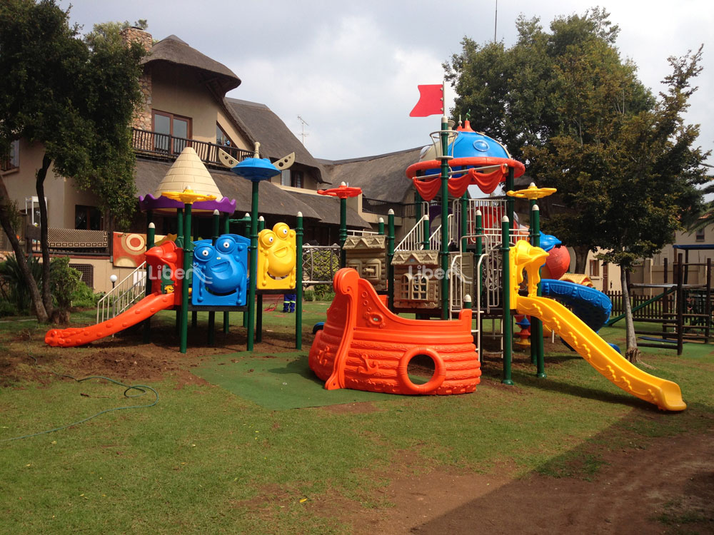 Liben Outdoor Playground Project in South Africa