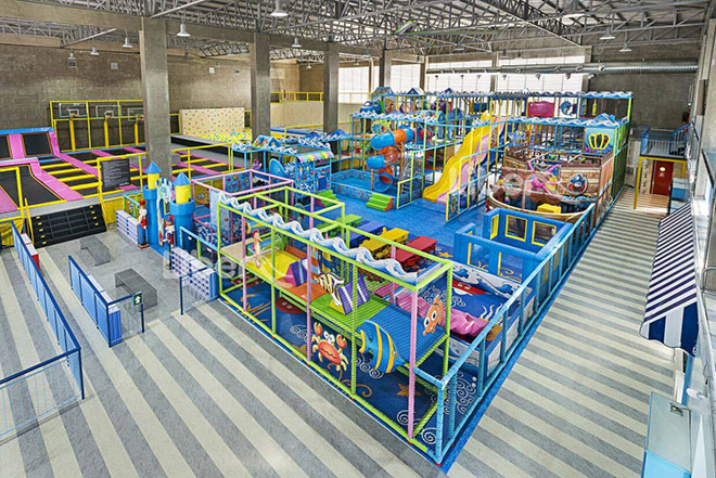Liben Indoor Soft Play Park in Malaysia