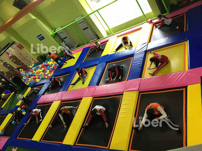 Liben Trampoline Park Project in YueQing China