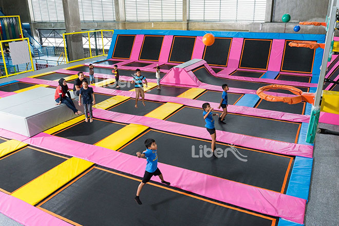Liben Indoor Trampoline in Malaysia
