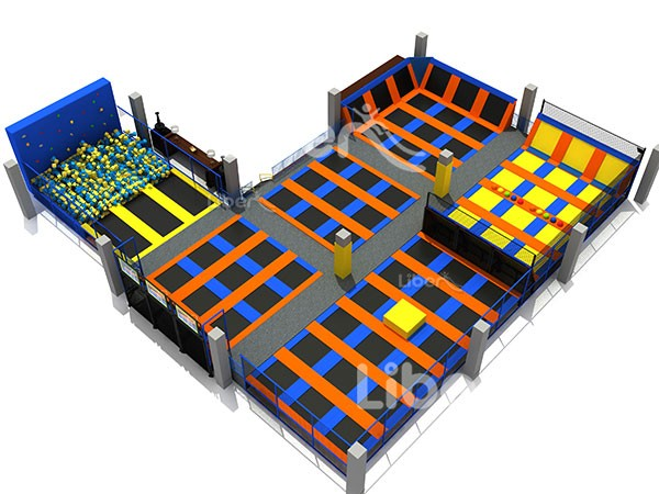 2017 China Indoor Customized Jump Trampoline Park Seller