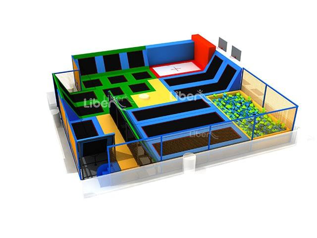 China trampoline manufacturer trampoline park design for Indoor trampoline park design manufacturing
