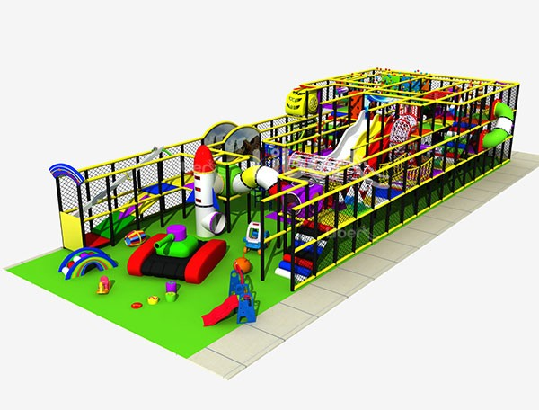 China Small Indoor Playground Jungle Gym Supplier