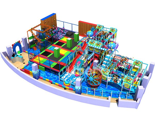 ASTM certified China large professional indoor soft play supplier