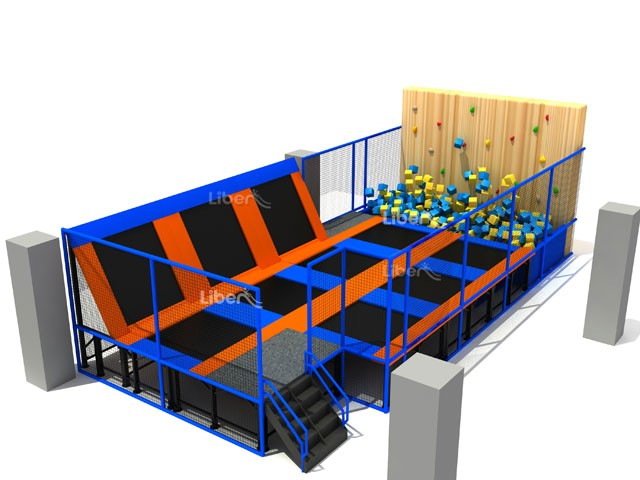 how to build an indoor foam pit