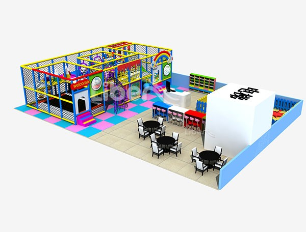 Customized Kids Indoor Soft Play Structure with Toddler Play Area