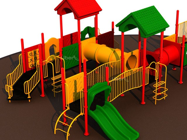 TUV approved children outdoor play equipment LE JD 060 01