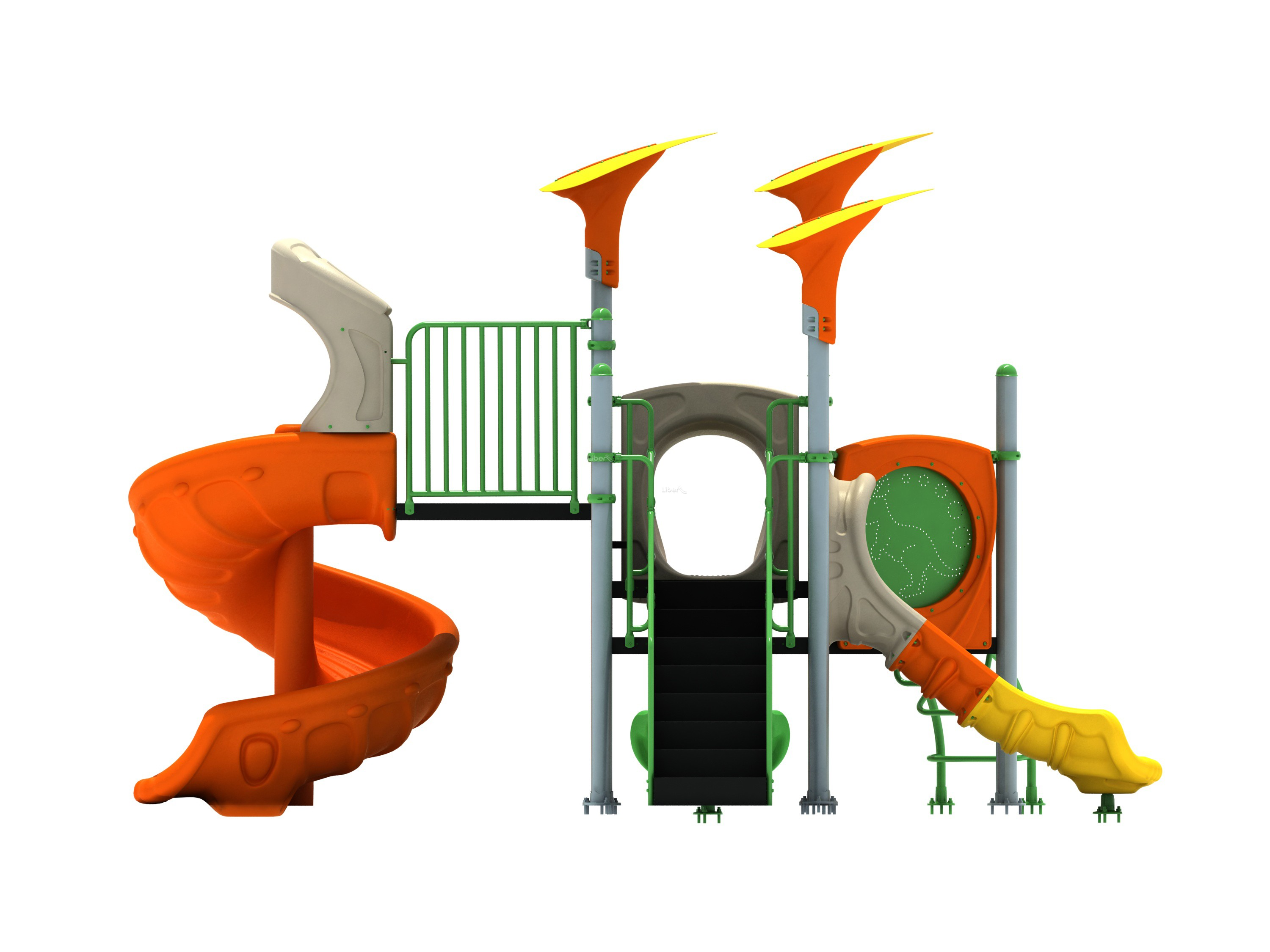 China Liben Toddler Outdoor Playsets Qing Series LE QI 023