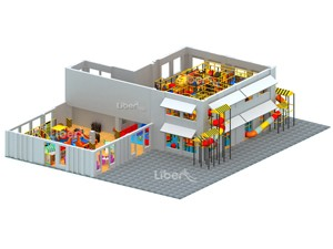 Indoor Amusement Playground for Toddlers