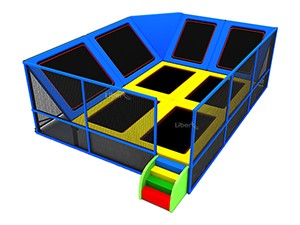 Indoor Trampoline Park with Enclosure