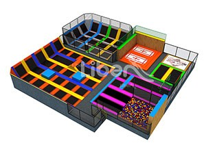 China Foam Pit Trampoline Park Factory