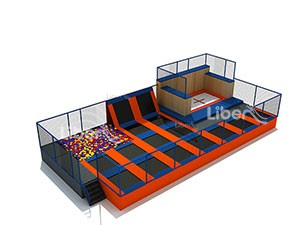 High Quality Cheap Foam Pit Trampoline Supplier