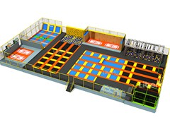 Jump Park with Jumping Boxes and Climbing Walls, Israel Trampoline Park