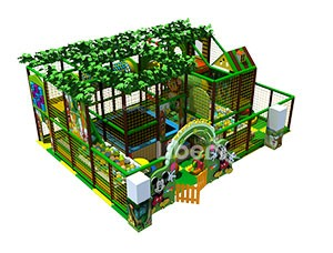 China Small Indoor Soft Play Jungle Gym Supplier