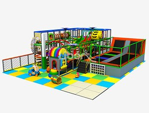 Turn-key service China indoor playground with trampoline supplier