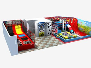 small indoor trampoline soft play park supplier in China