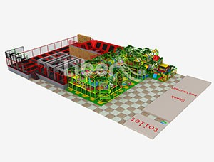China Leading Indoor Soft Play and Trampoline Park Manufacturer