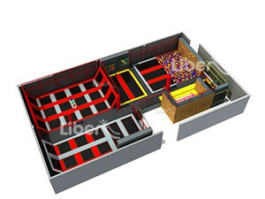 China Best Quality Trampoline Park Supplier