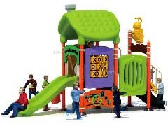Plastic Playground for Early Child