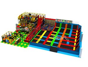 Kids Indoor Playground Soft Play Park Supplier in China