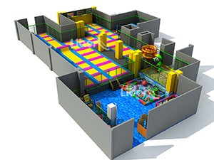 China Customized Kids Trampoline Park Equipment Supplier