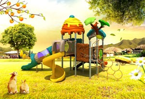 Children Outdoor Park Playground Equipment