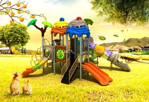 China Backyard Playground Equipment Supplier
