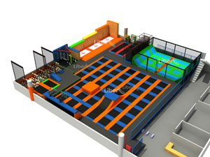 Customize Trampoline Park