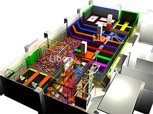 High Quality TUV Certified Indoor Trampoline Park Supplier