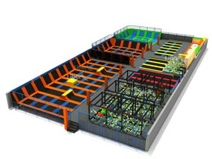 Large Children Indoor Trampoline Park Supplier