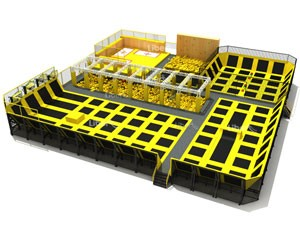 China Professional Indoor Trampoline Park Supplier