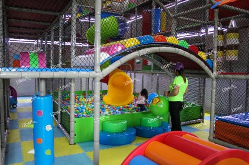 What factors affect the price of indoor playground equipment?