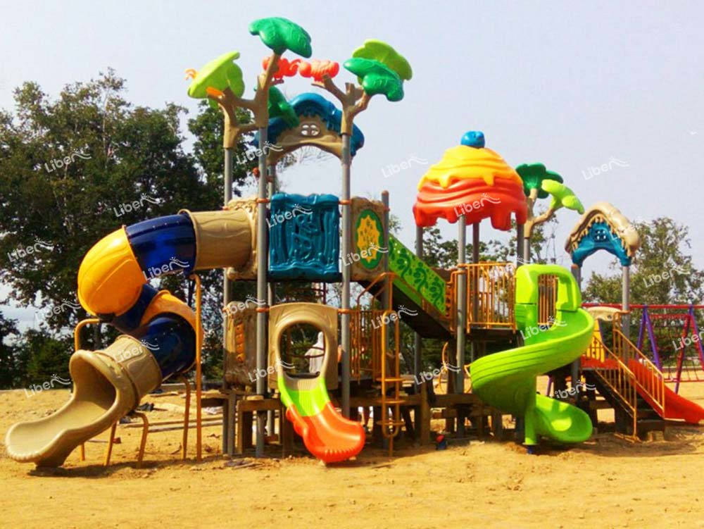 Outdoor Playground Slide-2